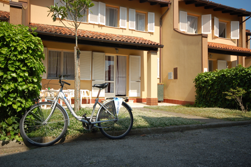 Exterior Four-room Cottage - In rent am Lido di Pomposa - Italy - Delta Blu Residence Village