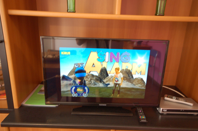 TV with satellite decoder - Holidays at the Sea Italy - Delta Blu Residence Village